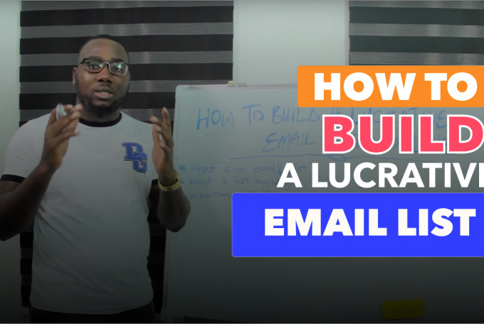 How To Build A Lucrative Email List Online